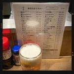147449423 - 生ビール  390円