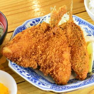 ★美味い魚介は揚げても美味い!