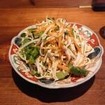 天天厨房 - 干し豆腐サラダ
