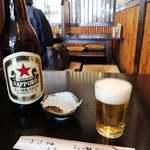 神田まつや - ビール大750