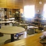 cafe 茶蔵 - 陶芸コーナー