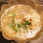 瓢箪の花 - 美味しいお鍋〜出汁まで一滴残さず頂きました。