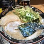 関西 風来軒 - 豚骨醤油Wスープラーメン 800円(税込)
