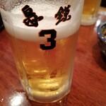 鳥鍈 - 生ビール