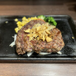 いきなりステーキ - 料理写真:ウルグアイ産リブロースステーキ280g