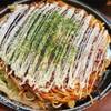 福一 - 料理写真:府中焼き 豚玉(850円)