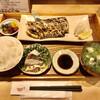 ごはんや 飯すけ - 料理写真:太刀魚塩焼き定食、ちょこっと刺身