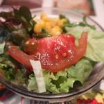 トゥッカーノグリル&バー - セットのサラダ