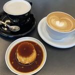 ウエストサイドコーヒー - チャイラテ、カフェラテ、プリン