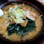 サッポロ麒麟ラーメン - 『キリンセット』(税込み900円)の味噌ラーメン