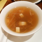 chaini-zukicchinourou - 干し貝柱入りとろみスープ