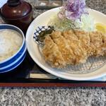 旬魚介×串揚げ Kushi‐Toria M's - 厚切りロースカツ