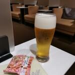 ANAラウンジ - オリオンビール&ブルボンスナック(^_^)/□
