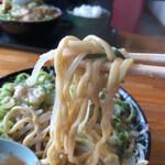 無鉄砲しゃばとん - ワシワシ麺リフト\(//∇//)\