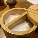 蕎麦割烹  倉田 - 塩2種