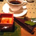 彩箸 - コース料理のデザート