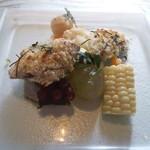 14750894 - 秋刀魚のワタを塗った香草焼き.JPG