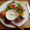 なたね - 料理写真:季節野菜のキッシュ