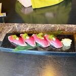 147504459 - 春鰹の叩き握り寿司
