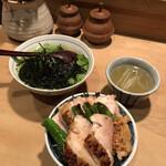 Toriyoshi - ・きじ丼 ・お茶漬け(梅干し)