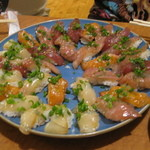 魚田 - 握り盛り