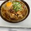 tachiguisobadokorokisoba - 料理写真:げそ天そば 390円 玉子 60円