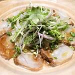 バウレット - 鮮魚(真鯛)の炭焼きカルパッチョ
