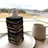 cafe 縞 - 料理写真:年縞サンドイッチと玄米黒胡麻ミルク