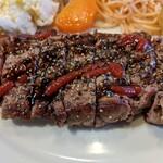 ダンラン亭 - ステーキ定食1