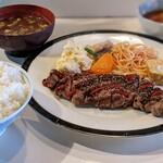 ダンラン亭 - ステーキ定食3