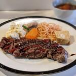 ダンラン亭 - ステーキ定食