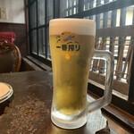 夢や - 生ビール