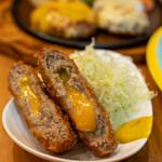 洋食 GOTOO - 2021.3 チーズメンチカツ(1個 500円)