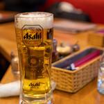 洋食 GOTOO - 2021.3 生ビール スペシャルジョッキ 大(580円)