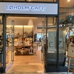 SOHOLM CAFE+DINING  - 入り口
