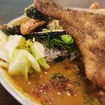 curry&quiche&bar たかおかcafe - キャベツ&コーンのコールスロー
