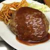 京都だるまや食堂 - 料理写真:ハンバーグ ¥220