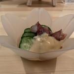 立寄処 桜子 - 蛍烏賊酢味噌