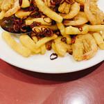 京華樓 - 小エビの香辣炒め
