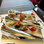 眺遊楼 - 料理写真:眺遊楼特製前菜盛り合わせ