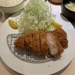 Ponchiken - 上ロース豚かつ定食 ¥1,500