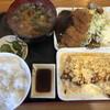 にしな - 料理写真:出汁巻き豚カツ定食930円