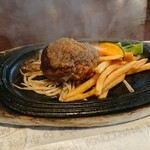 ビストロ椿 - 牛100%ハンバーグ