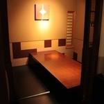 やさいや 鉄板焼野菜 - 個室もご用意しております