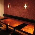やさいや 鉄板焼野菜 - 店内にペット同伴可能席を10席ご用意しております。