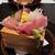 多満喜 - 料理写真:刺身、本鮪、金目鯛、鰆