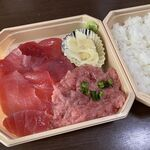 まぐろ亭 - 料理写真:中おちネギトロ丼