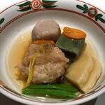 日本料理・鉄板焼 はや瀬 - 煮物