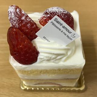 サンタムール - 料理写真:「いちごのショートケーキ」370円税抜き