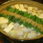 14756000 - ホルモン鍋 塩